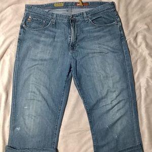 Men's Adriano Goldschmied jeans size 38/34